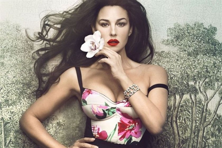 Monica Bellucci, Italian actress and Definition of Beauty. Photo: Vanity Fair