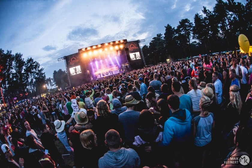 Main Stage - photo: Helene Beach Festival