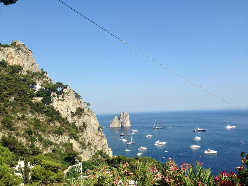Your walking in Capri pays off - always!