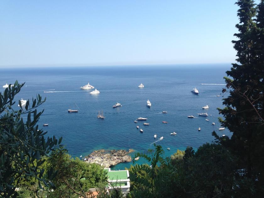 View over Marina Piccola