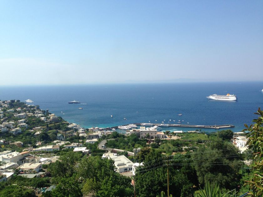 Marina Grande from above