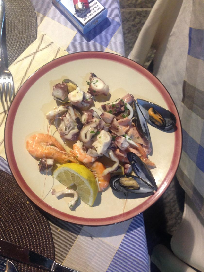 Special things you shouldn't miss: a Seafood Salad